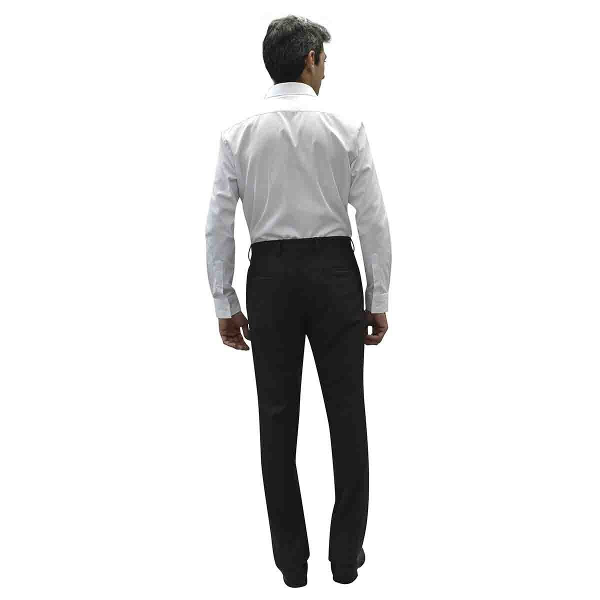 Camisa de Vestir Blanca Slim Cavalier