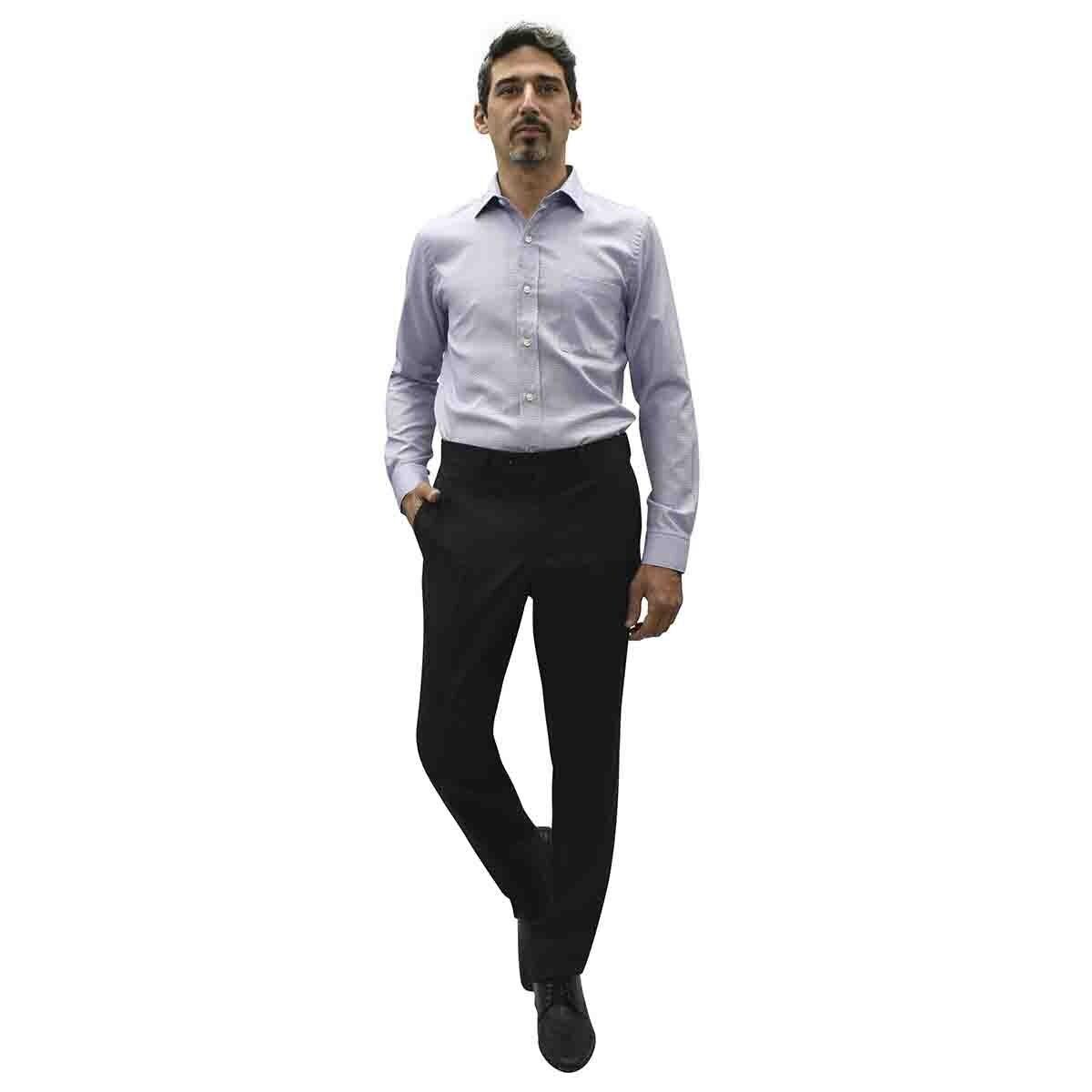 Camisa de Vestir Morada Slim Cavalier para Caballero