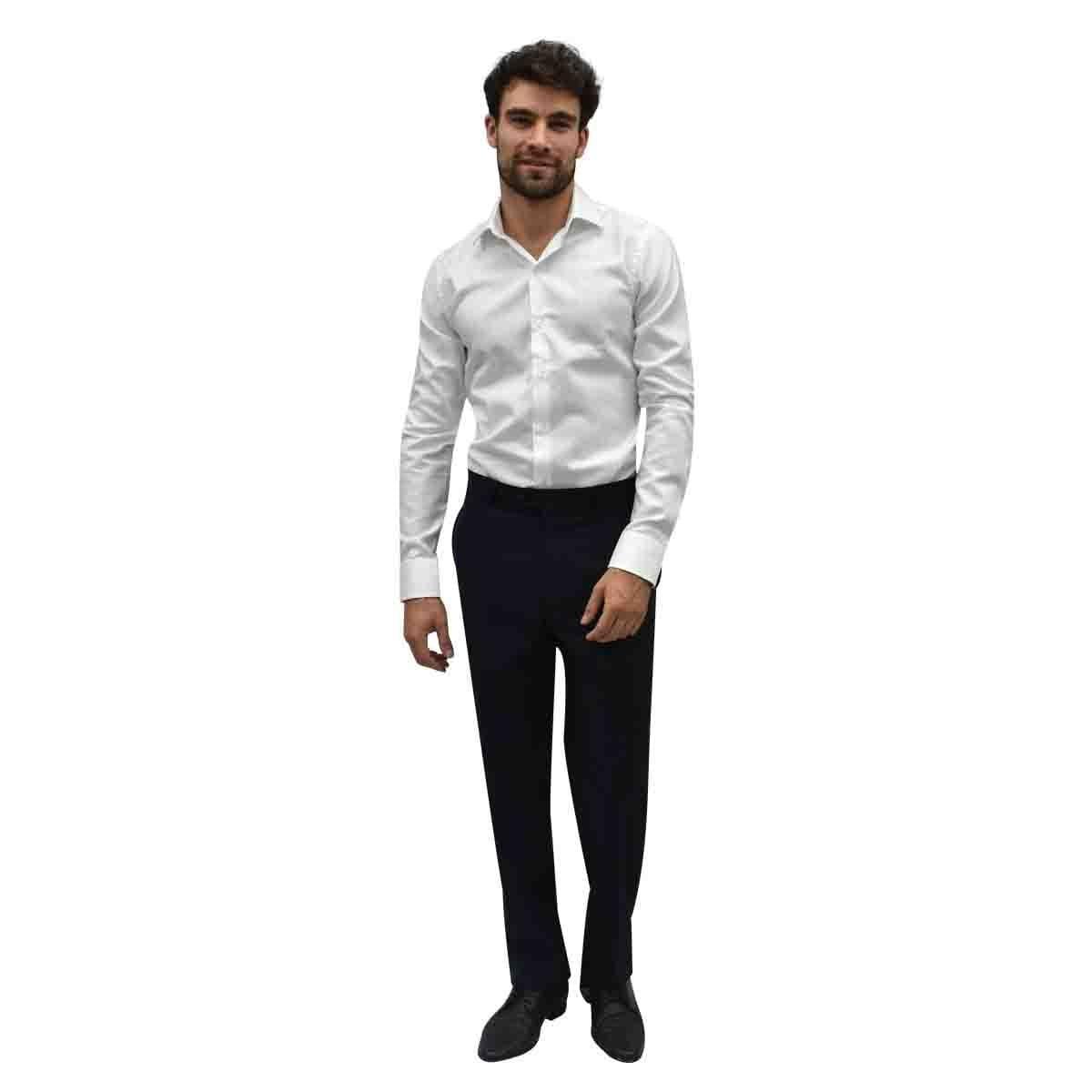 Camisa de Vestir Blanca Ultra Slim Chaps