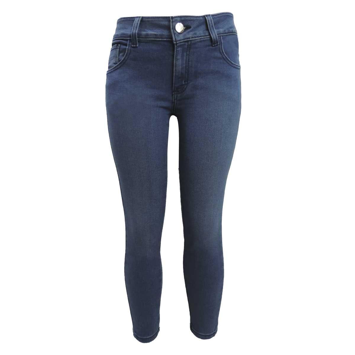 Jeans Skinny Bordado en Bolsas Traseras Berona