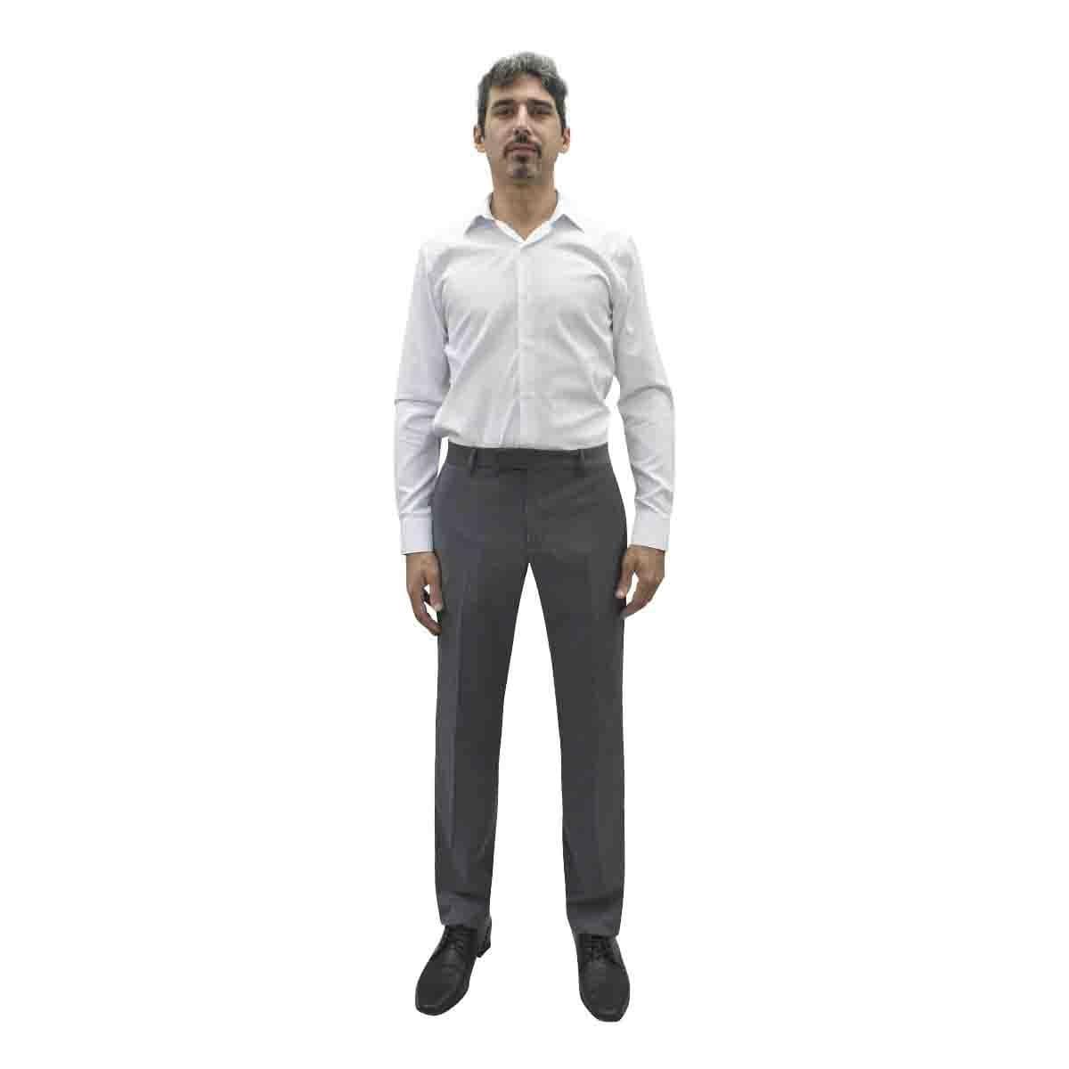 Camisa de Vestir Blanca Corte Ultra Slim Chaps