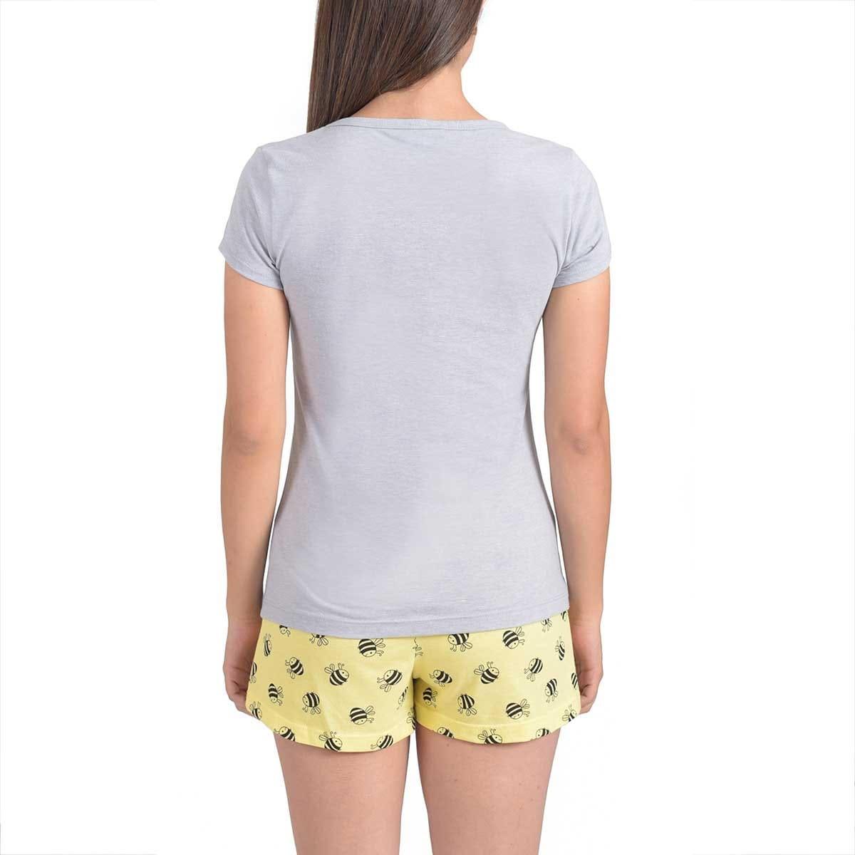 Pijama con Estampado de Abeja la Nuit