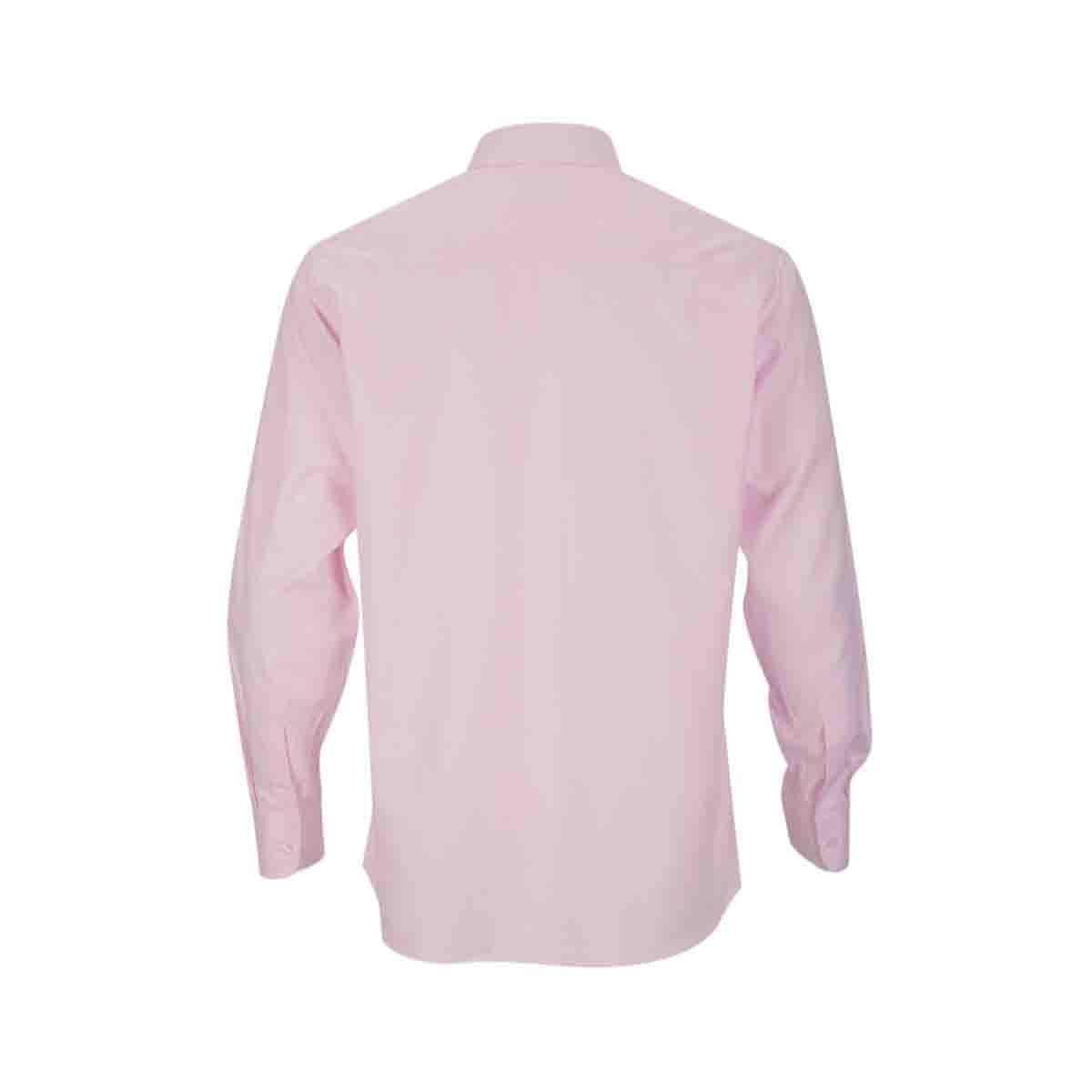 Camisa de Vestir Rosa Claro Bruno Magnani