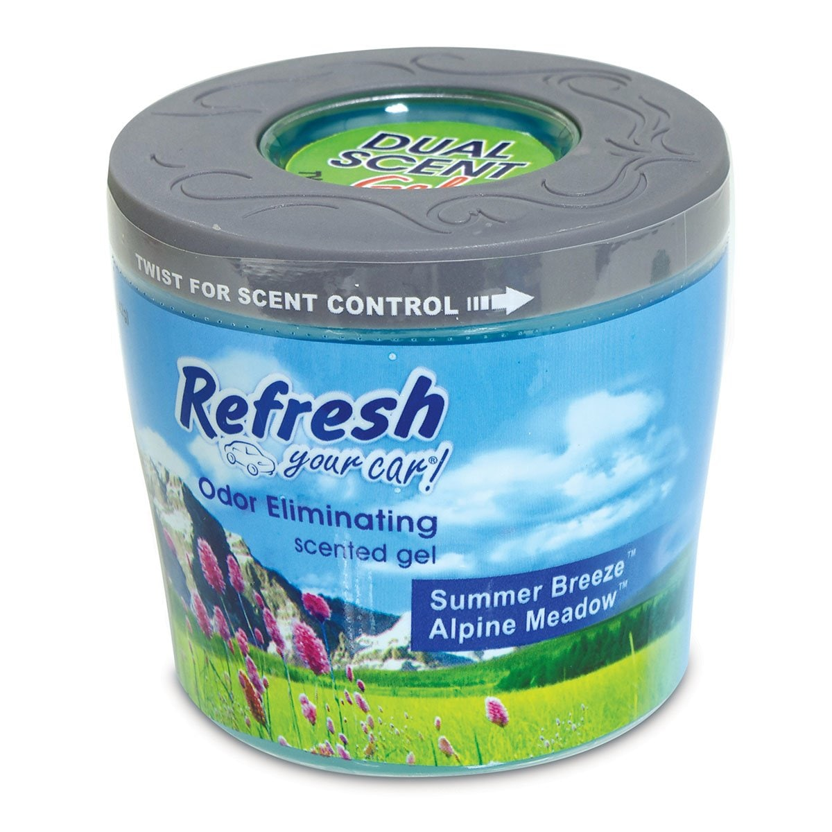 Aromatizante Refresh Gel Dual Summer Meguairs