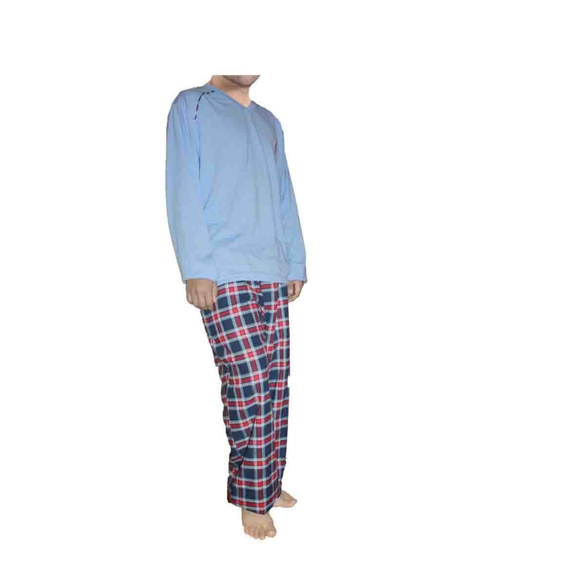 Pijama Chifón Franela Isotoner