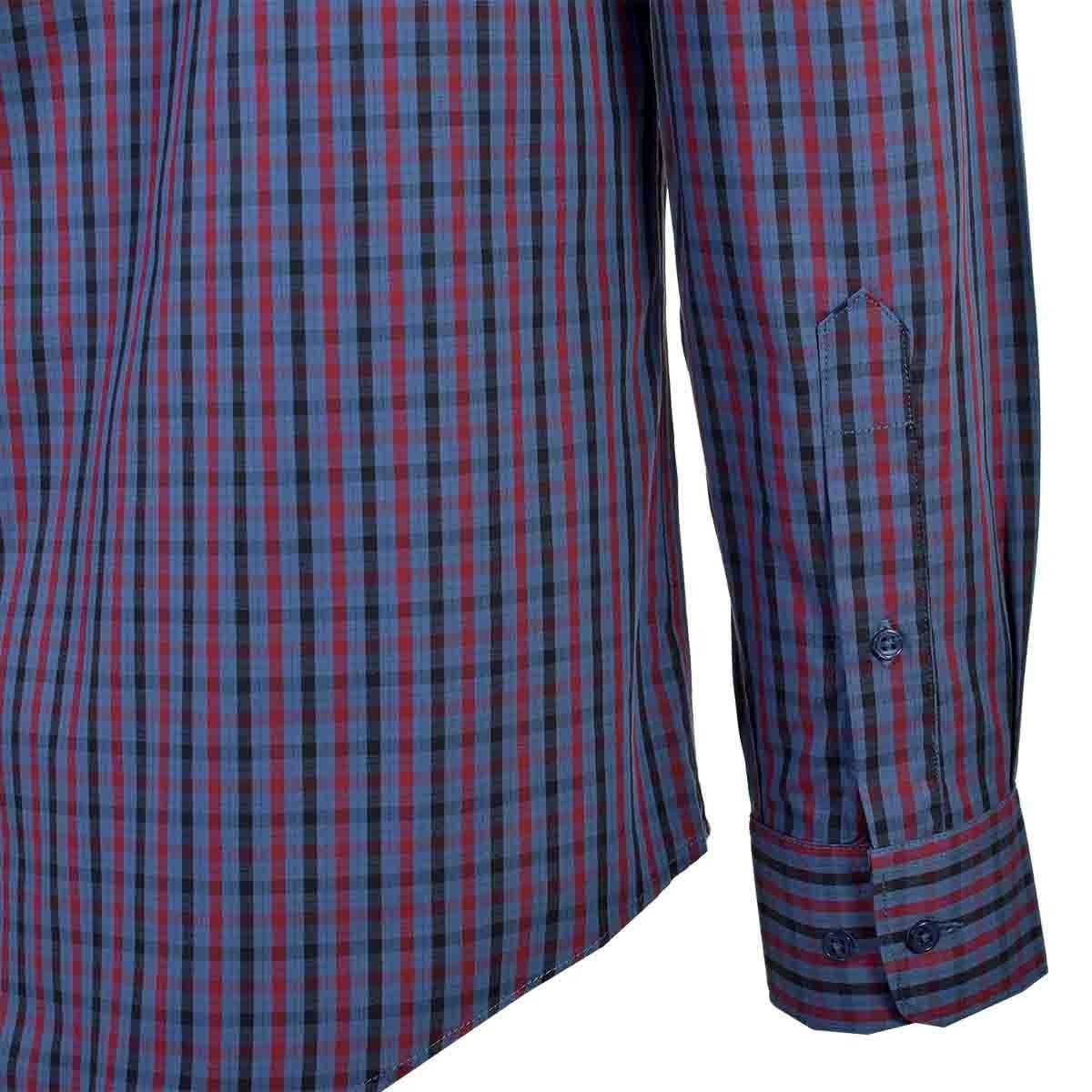 Camisa Casual  Manga Larga Regular Ranger Bl Carlo Corinto para Caballero