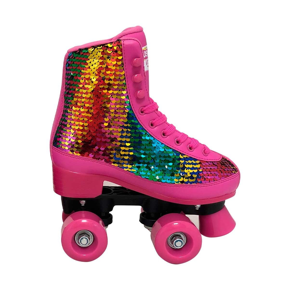 Patines Bota Rush Girl con Lentejuela Flying Wheel