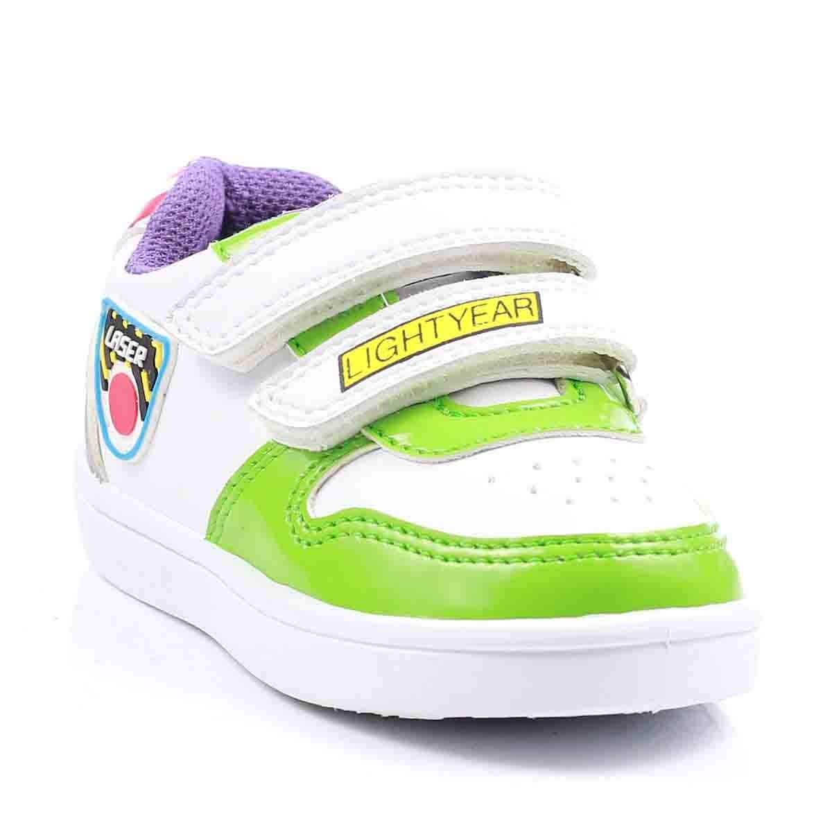 Tenis con Dos Velcros 14-19 Blanco Toy Story
