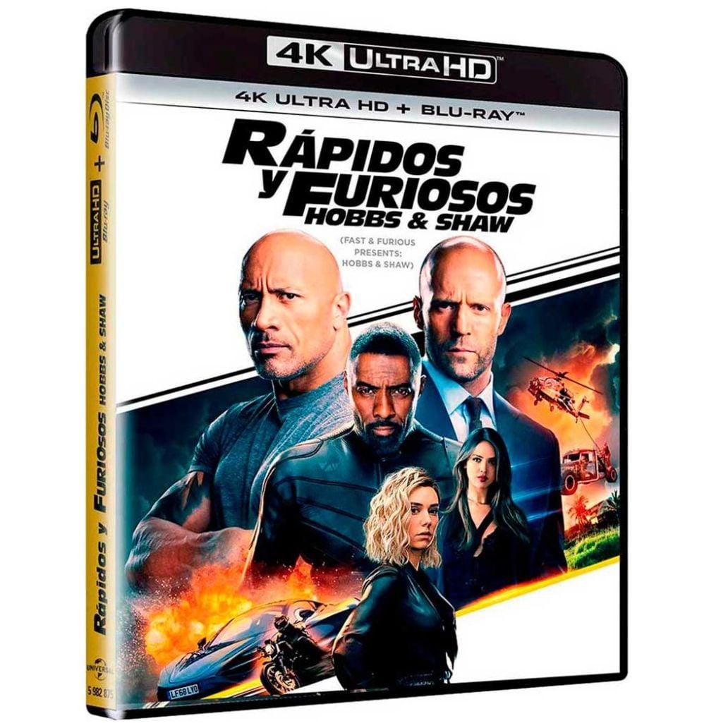 4K Uhd + Blu Ray Rápidos y Furiosos: Hobbs & Shaw