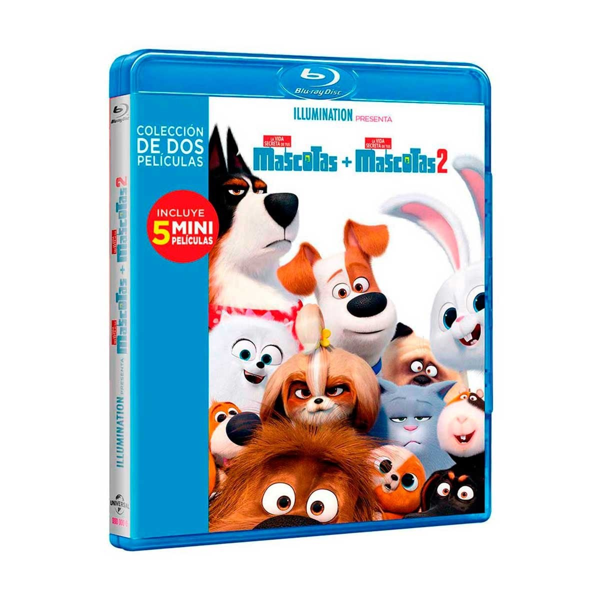 Blu Ray Boxset la Vida Secreta de Tus Mascotas