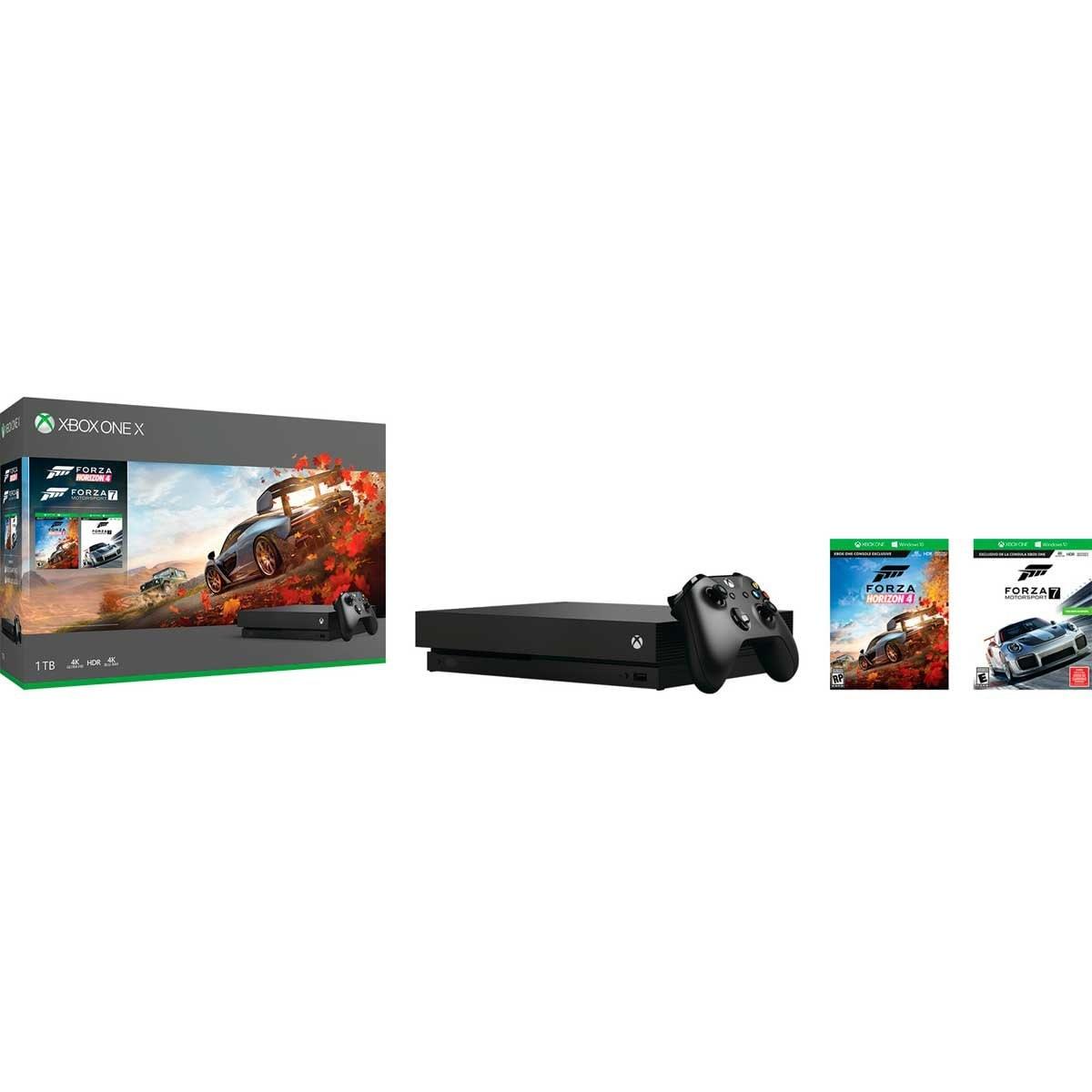 Consola Xbox One X 1Tb Forza Horizon 4 Y Lego Dlc