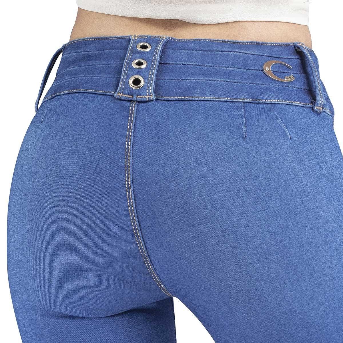 Pantalon Sin Bolsas Ciclon Jeans Para Dama