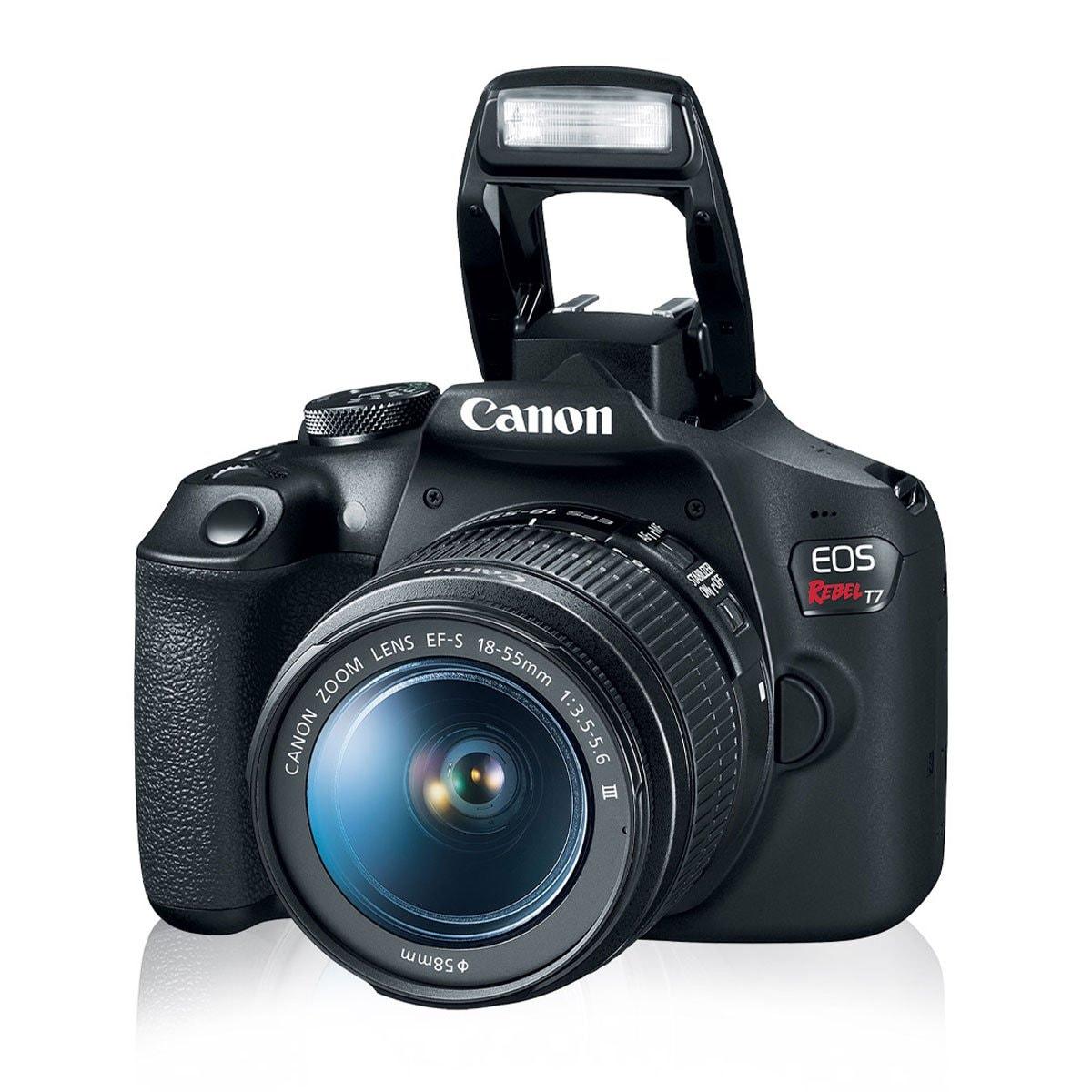 Cámara Canon T7 Is  Ef-S 18-55 Mm B