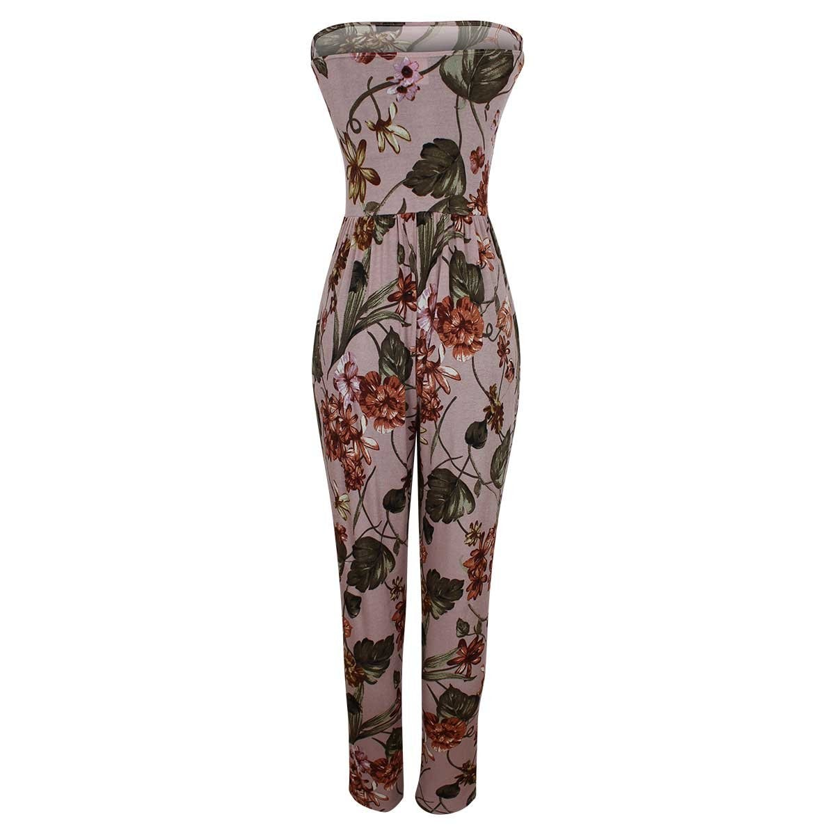 Jumpsuit  Estampado Straple Elle