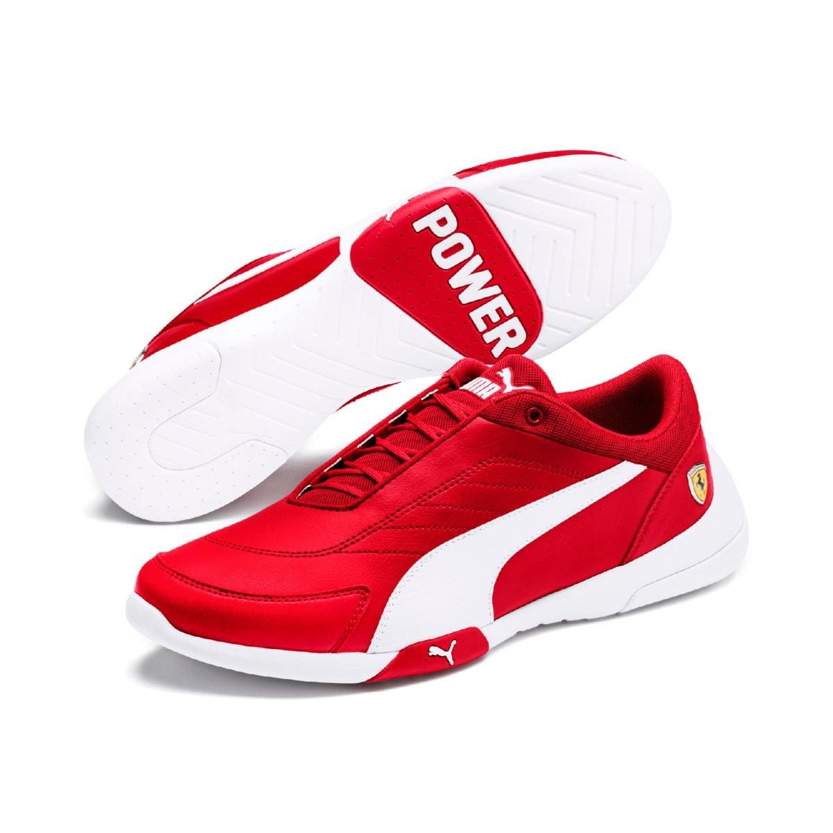 Tenis Rojo para Caballero Puma Ferrari Kart Cat Iii