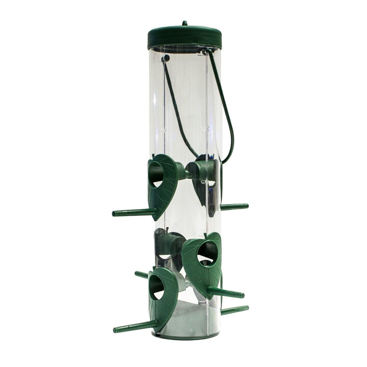 Alimentador para Aves con 6 Estaciones y Capacidad de 600Grs Acuario Lomas