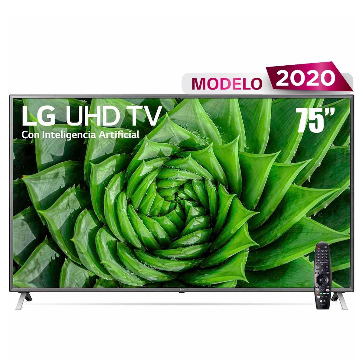 "Pantalla 75"" Uhd Tv Ai Thinq 4K 75Un8000Pub Lg"