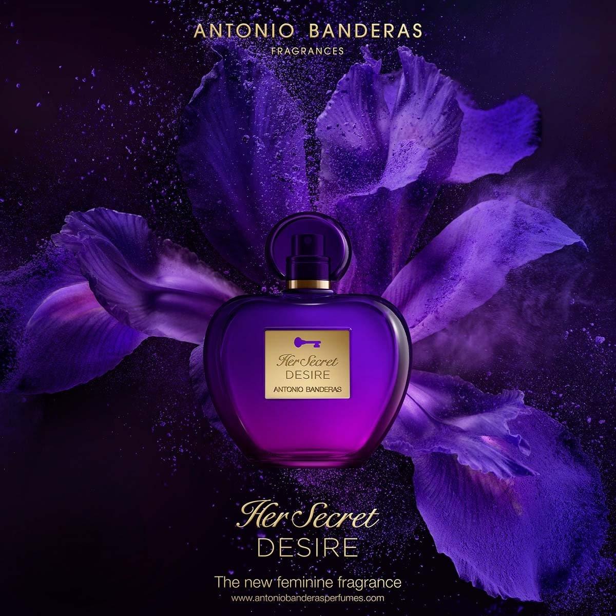 Fragancia para Dama, Antonio Banderas, Her Secret Desire, Edt 80Ml