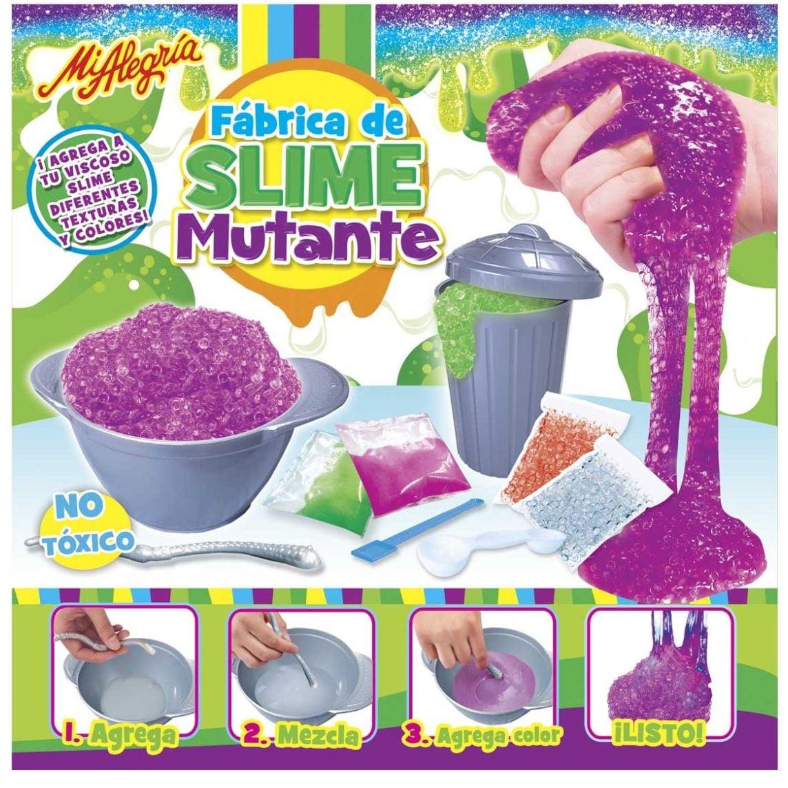 Fabrica de Slime Mutante Mi Alegria