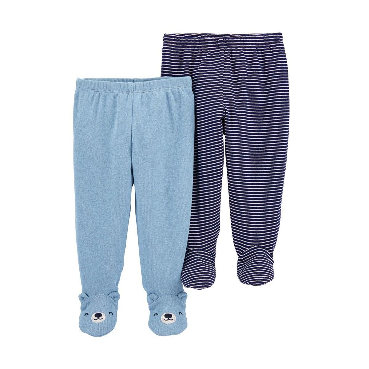 Set 2 Pantalones Azul Para Bebe Carters Modelo 1i733710