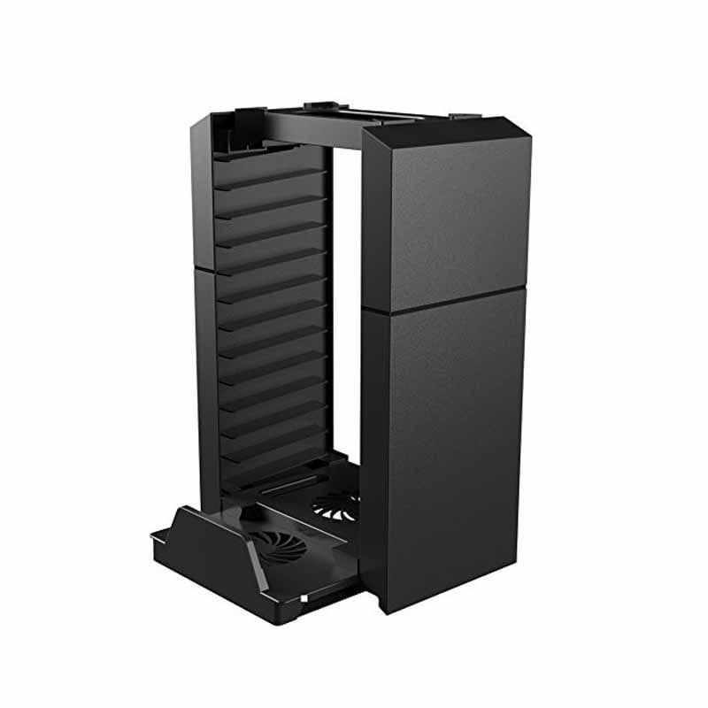 PS4 Base Enfriadora Organizador De Discos Para PlayStation 4 / Slim / Pro (Organiza Discos)