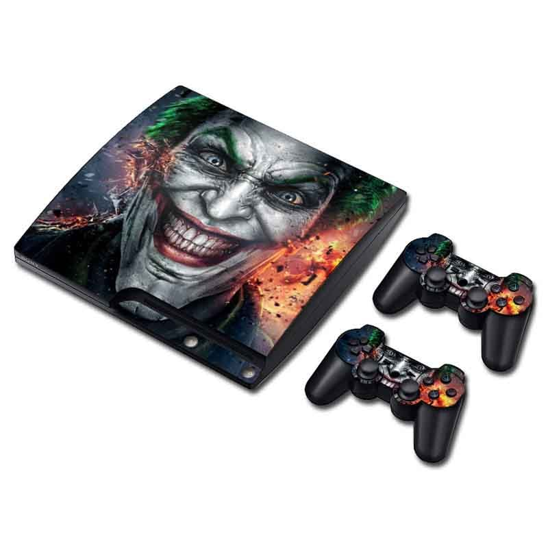 PS3 Slim Skin Estampas Para PlayStation 3 Slim (Joker)