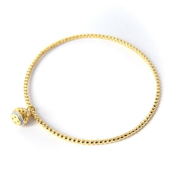 Pulsera Berloque-Baño Oro 18k