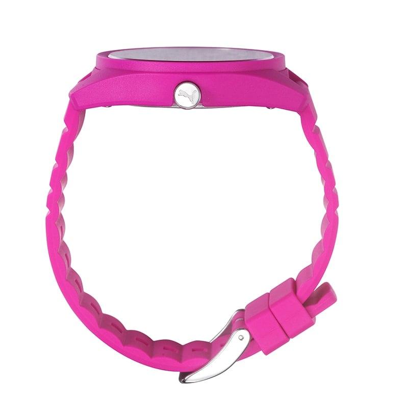 reloj digital puma rosa