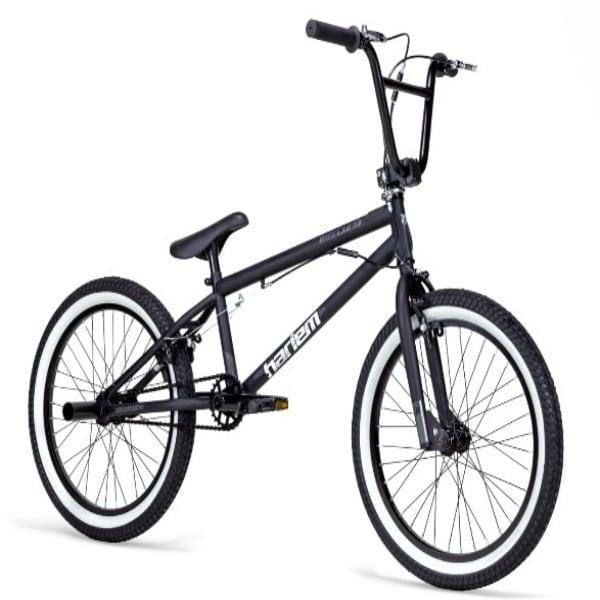 Bicicleta Mercurio, estilo libre, de salto, Free style, modelo HARLEM, Rodada 20,  1 velocidad, color NEGRO MATE/BLANCO, linea  2018