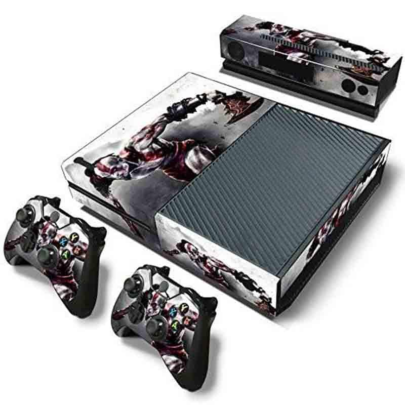 Xbox One Skin Estampas (God Of War)