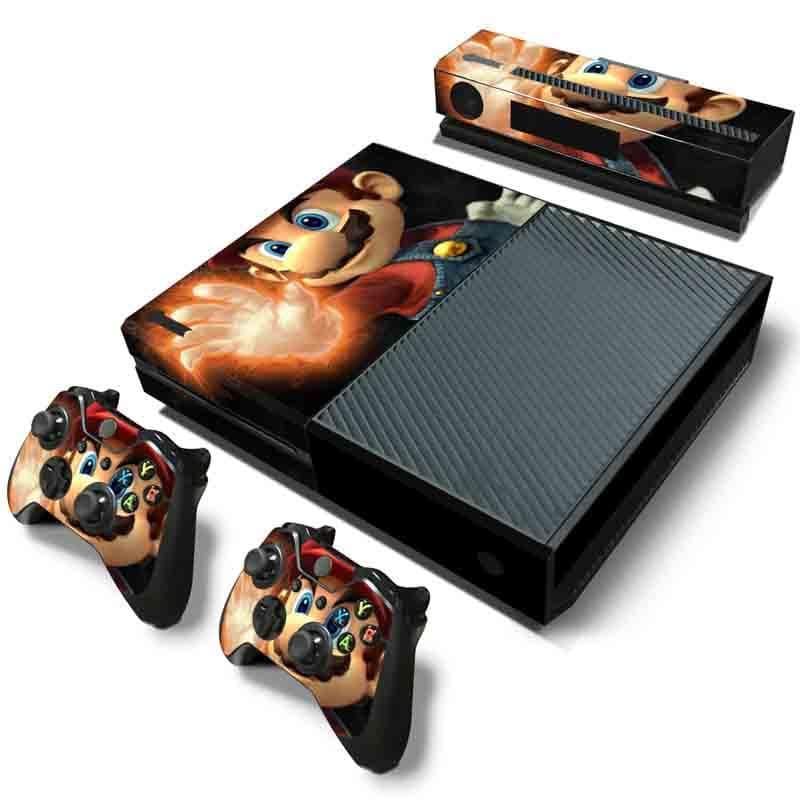 Xbox One Skin Estampas (Mario)