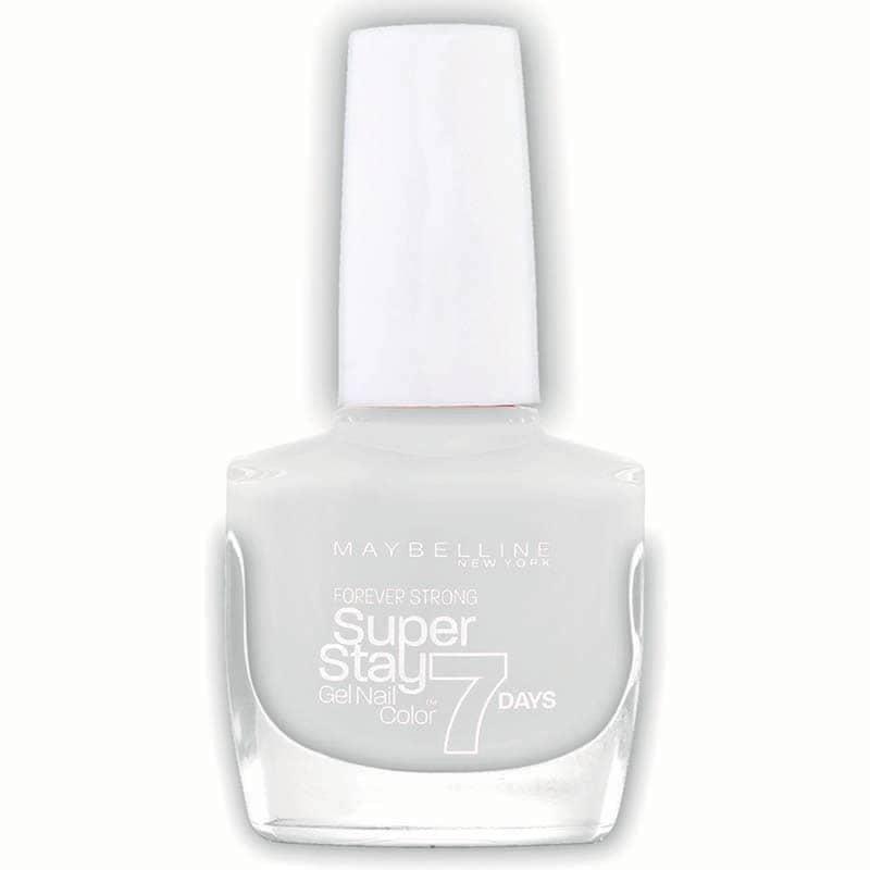 Esmalte Barniz Uñas Forever Strong Maquillaje Maybelline Pure White