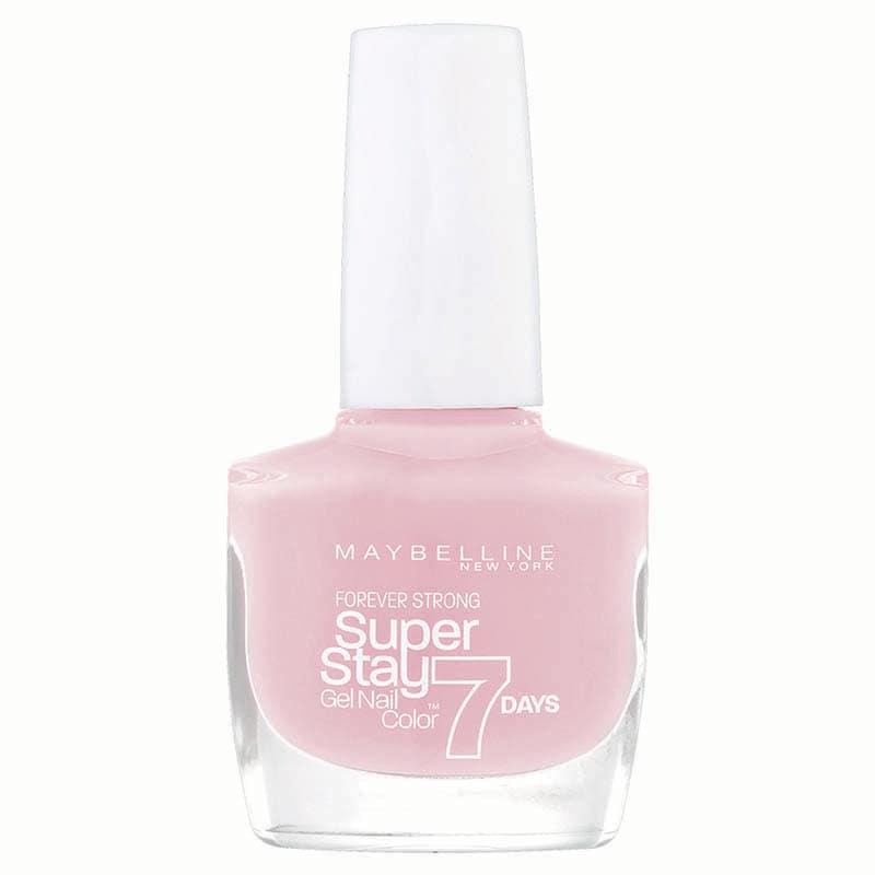Esmalte Barniz Uñas Forever Strong Maquillaje Maybelline Pink Whisper