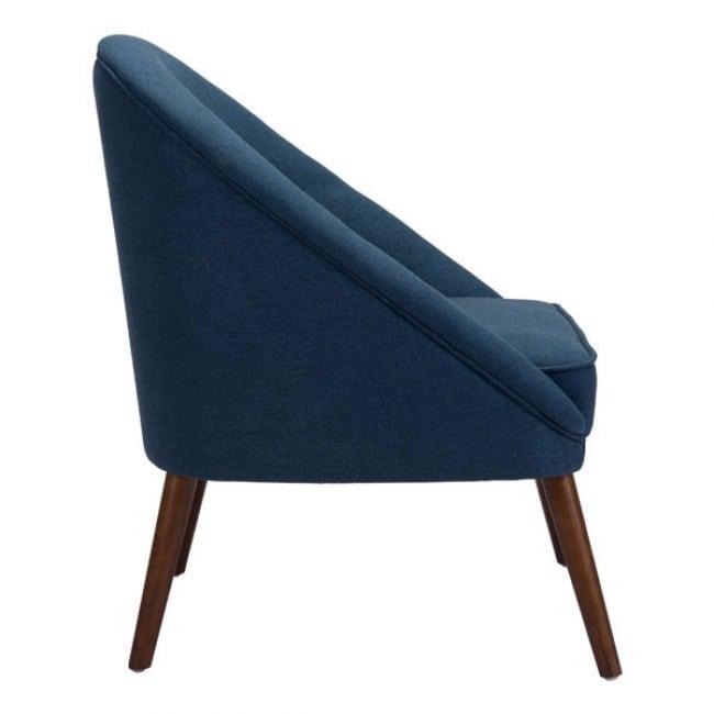 Silla Ocasional Modelo Carter - Azul  - Këssa