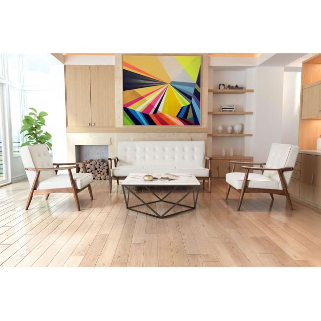 Sofa Modelo Rocky - Blanco  - Këssa