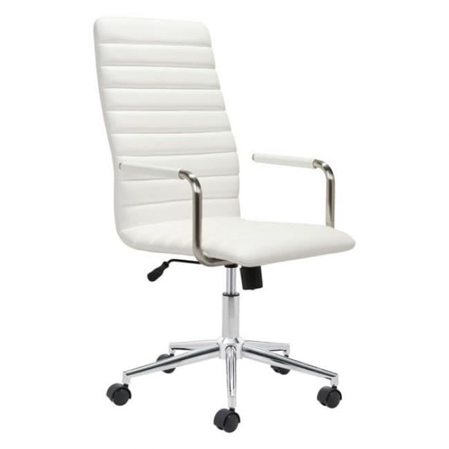Silla De Oficina Modelo Pivot - Blanco  - Këssa