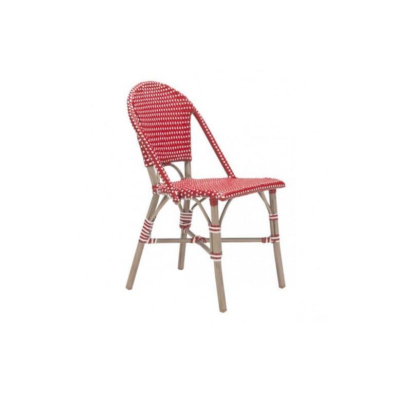 Silla Para Jardin Paris Sin Brazos - Rojo - Këssa