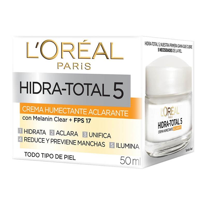 Crema Humectante Hidra Total 5 Anti Manchas 50 ml Loreal