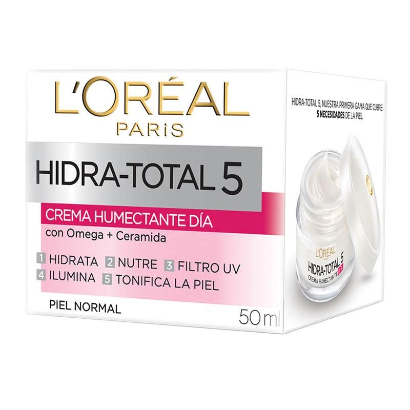 Crema Humectante Hidra Total 5 Día 50 ml Loreal