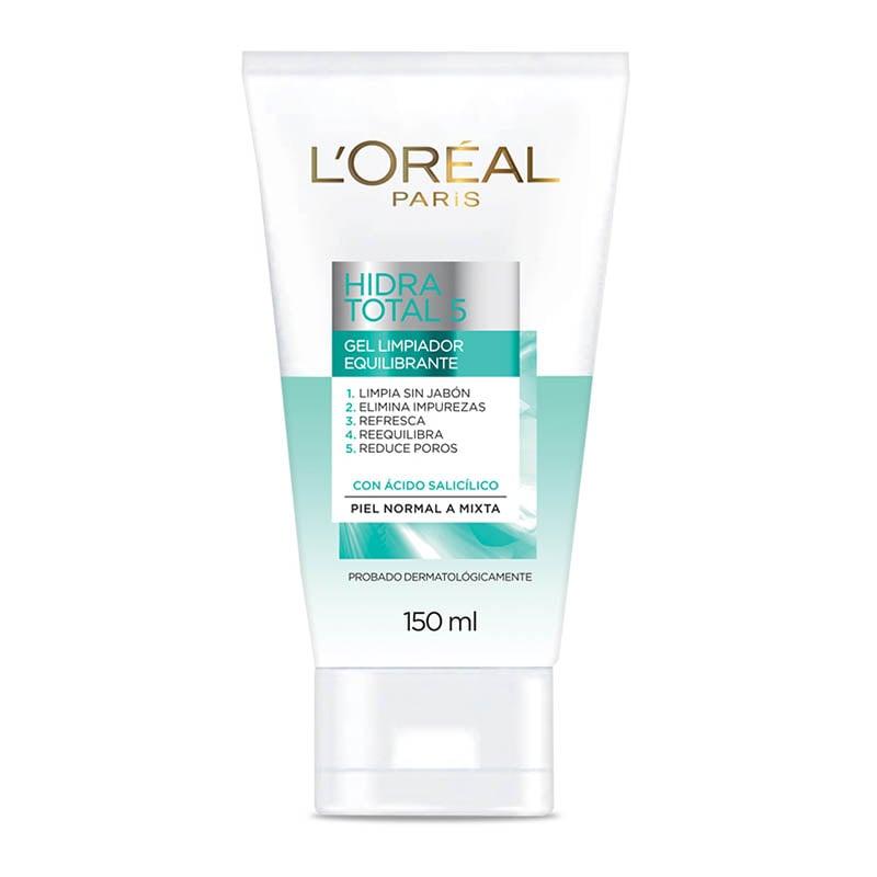 Limpieza Facial Gel Equilibrante 150 ml Hidra Total 5 Loreal