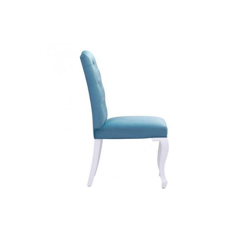 Silla Bourbon - Terciopelo Azul - Këssa
