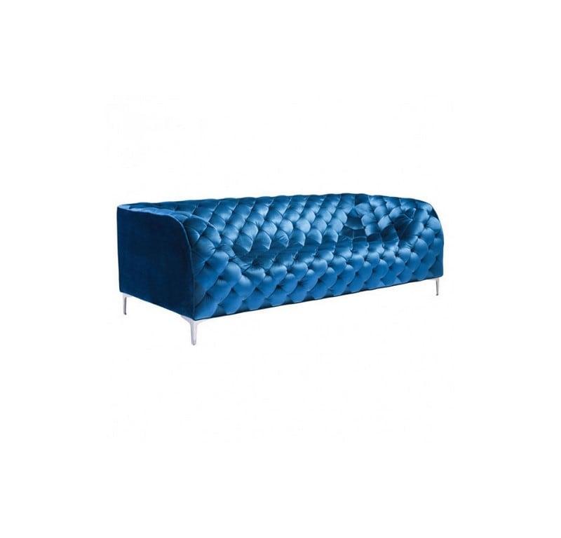 Sofa Providence - Terciopelo Azul - Këssa