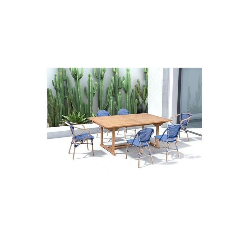 Silla Para Jardin Paris Sin Brazos - Azul - Këssa