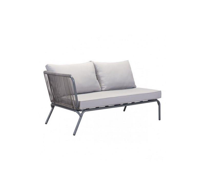 Sofa Para Exterior Pier Lado Izquierdo - Gris - Këssa
