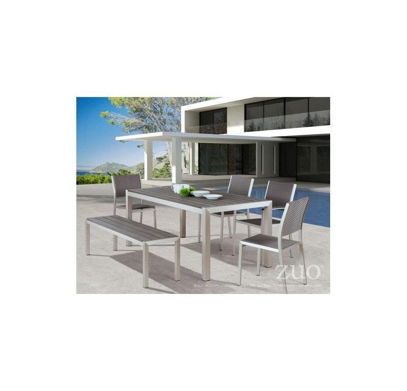 Silla Para Jardin Metropolitan Sin Brazos - Aluminio - Këssa