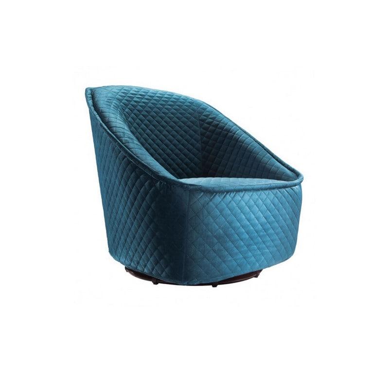 Sillon Individual Pug Swivel - Azul Marino - Këssa