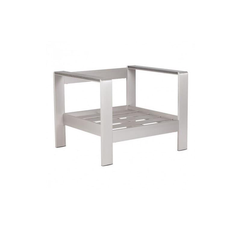 Silla Para Jardin Cosmopolitan - Aluminio - Këssa
