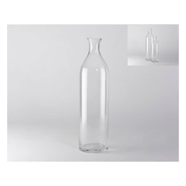 Florero Botella - Transparente - Këssa
