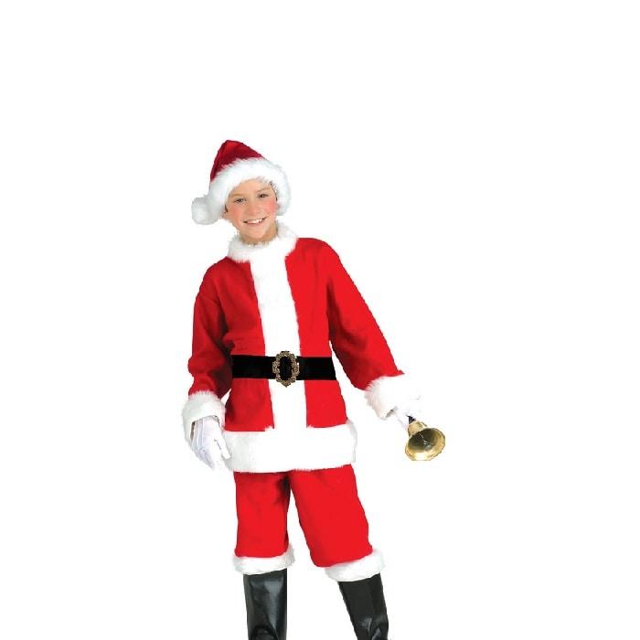 Disfraz de Navidad Santa Claus Niño Festival Pastorela - DISFRACES TuDi