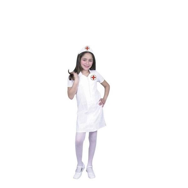 Disfraz de Doctora Oficio Enfermera Niña - DISFRACES TuDi